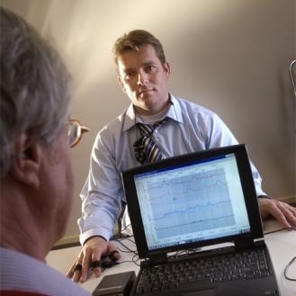 Biofeedback strain limit examination